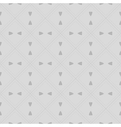 Foliage linear design pattern vector image vector image