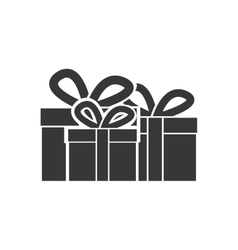 gift boxes icon vector image