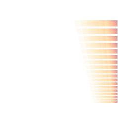 Pastel slope orange pixel bar abstract background vector