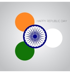 Creative for indian rebuplic day with vector