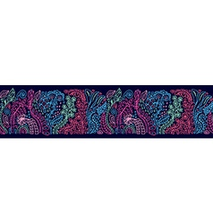 Decorative pattern banner vector