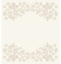 Abstract floral background vector