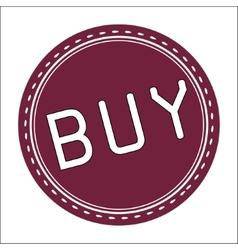 Buy Icon Badge Label or Sticke vector image vector image