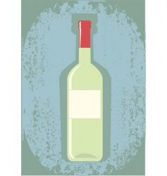 wine grunge vector image vector image