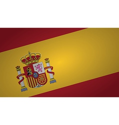 spain flag vector image