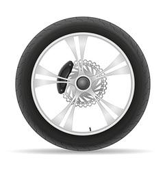 Motorcycle wheel 02 vector