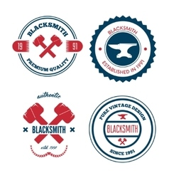 Collection of logo elements or logotypes for vector image