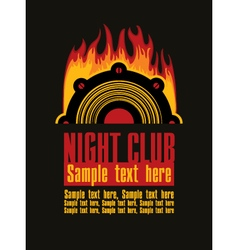 night club vector image vector image