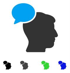 Person idea flat icon vector
