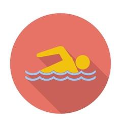 Pool icon vector image