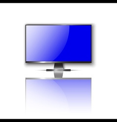 Realistic TV display vector image