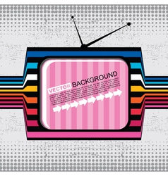 Abstract tv vector