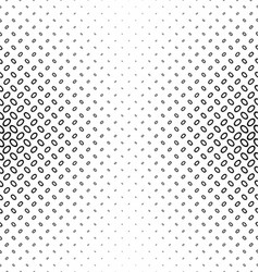 Abstract monochrome ellipse pattern design vector