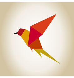 Bird abstraction vector image vector image