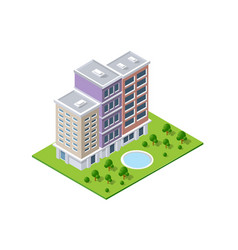 Urban infrastructure business vector
