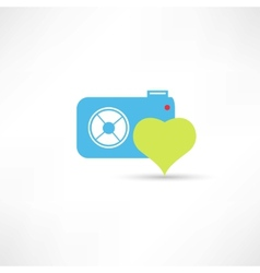 Photograph to take pictures icon vector
