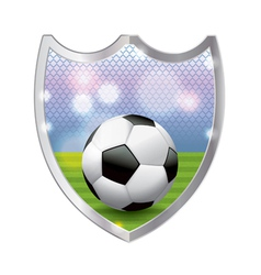 Soccer football badge emblem vector