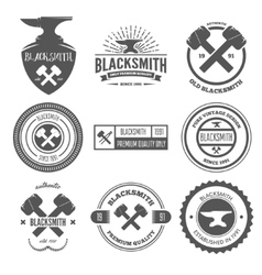 Collection of logo elements or logotypes for vector