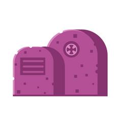 gravestone icon vector image