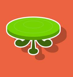 Poker table sticker vector