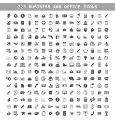 Business an icon vector image