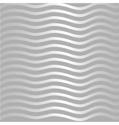 Silver wave pattern vector image