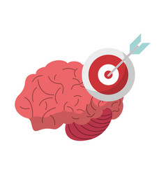 Brain target creativity idea vector