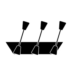 Kayak isolated icon design vector