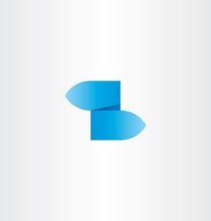 z letter blue gradient logo icon vector image