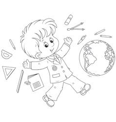 School vacation vector