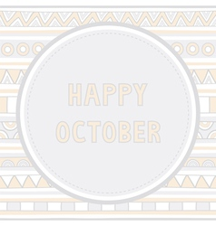 Happy october background1 vector