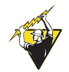 Electrician symbol vector
