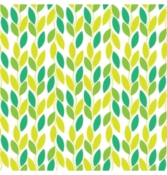 Seamless nature pattern with vines and vector