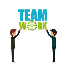 Team work design vector