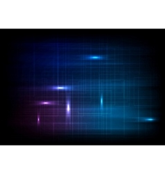 Dark glowing lines abstract background vector