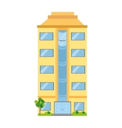building business tower vector image