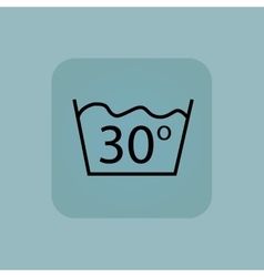 Pale blue 30 degrees wash vector