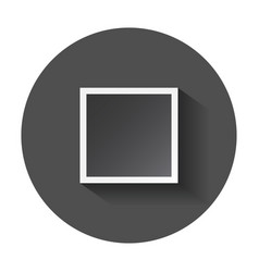 Photo frame for photography and picture with long vector