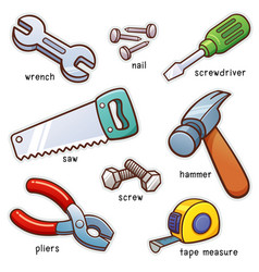 Vocabulary tools vector