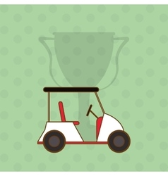 Icon of golf design vector