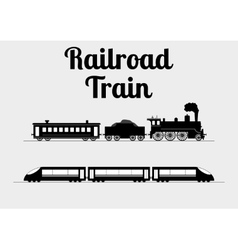a train vector image