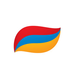 armenia flag vector image