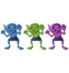 goblins vector image vector image