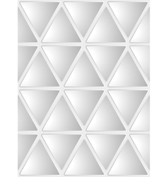 Seamless White Geometrical Background vector image vector image