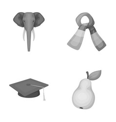 Zoo institute and other monochrome icon in vector