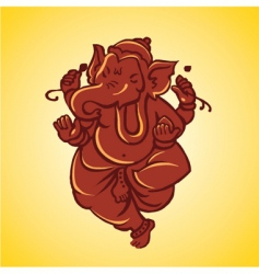Ganesh sculpture vector