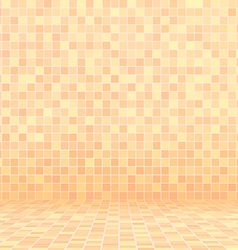 beige swimming pool ceramic vector image