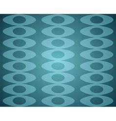 Blue Retro Seamless pattern vector image