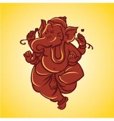 Ganesh sculpture vector