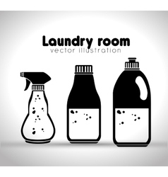 Laundry full service design vector